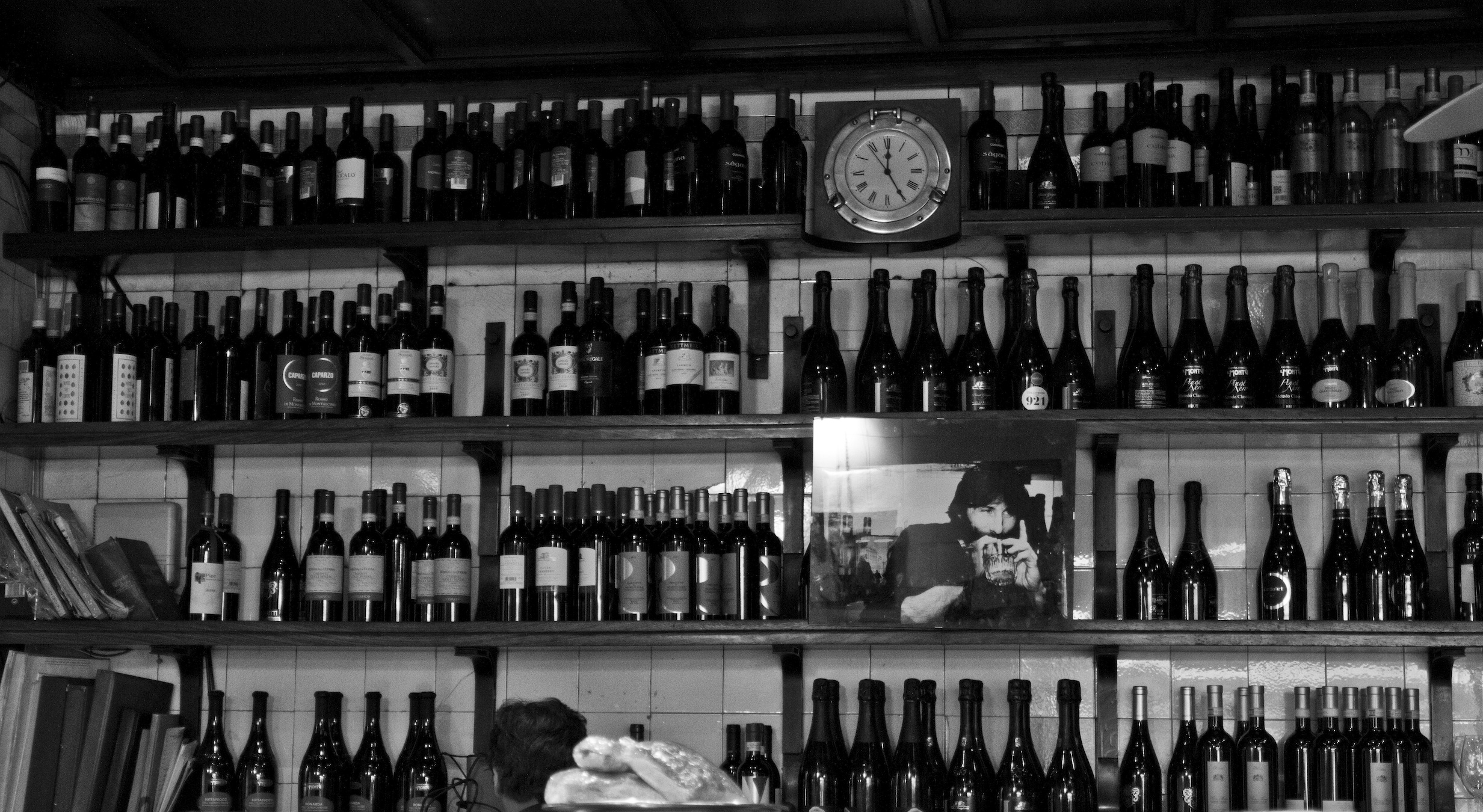 L'interno del Bar jamaica oggi