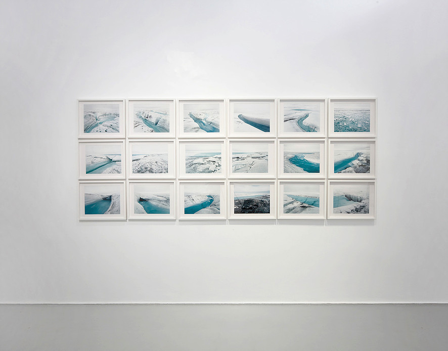 Olaf Otto Becker, Above Zero, installation view